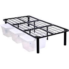 steel platform bed frame walmart com