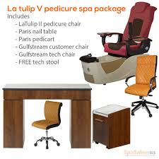 Gulfstream Plastics Pedicure Chairs by Lalili V Pedicure Spa Package Spasalon Us