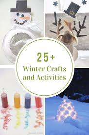 25 Winter Crafts And Activities