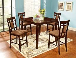 Amazon.com - GTU Furniture 5PC Dark Cherry Wood Dining Pub ...
