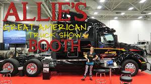 Allie's Great American Truck Show Booth | Allie Knight - Car And ...