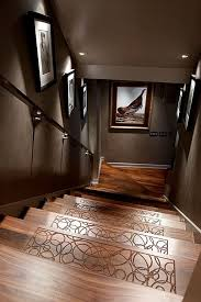 Keep Socks From Slipping With Textured Etchings On Each Stair Basement IdeasHome Theater BasementBasement Wall