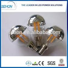 new arrival half mirror light bulb g45 3w filament led dimmable