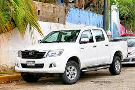 Acapulco, Mexico - May 31, 2017: White Pickup Truck Toyota Hilux ... Toyota Hilux 2016 V20 131x Ats Mods American Truck Simulator New Toyota Hilux What A Mick Lay Motors Wikipedia First Drive Tipper Pick Up Trucks Pickups For Sale Pickup From The United Behold Incredible Drifting Top Gear Check Out These Rad Hilux We Cant Have In Us At35 Professional Pickup 4x4 Magazine Rc Truck Drives Under Ice Crust Of Frozen