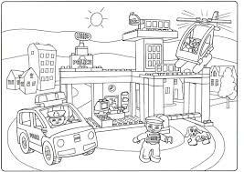 Lego City Coloring Pages Best