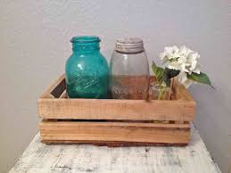 Wood Wall Enchanting Decor To Brighten Your Walls Pallet Ideas With Mason Jars