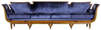 casa padrino luxus jugendstil 4er samt sofa blau hellbraun edles handgefertigtes wohnzimmer sofa barock jugendstil wohnzimmer möbel