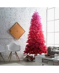 Red Ombre Prelit Christmas Tree By Sterling Company
