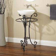 Wrought Iron Bathroom Accessories Nrc Within Plans Cabinets For