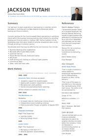 Resume Format For Banking Sector Freshers Unique Samples Visualcv Database