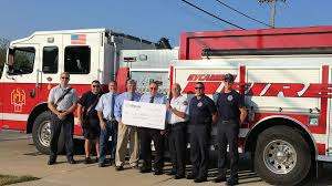 Sycamore Pumpkin Fest Parade by Sycamore Fire Department Receives 1 000 Grant Dekalb County Online