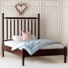 Spindle Headboard And Footboard by Harriett Spindle Bed With Low Footboard By The Beautiful Bed Company