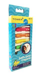 Crayola Bathtub Crayons Stain by Toby Tower Splash U0027n Learn 8 Bath Crayons Buy Online In South