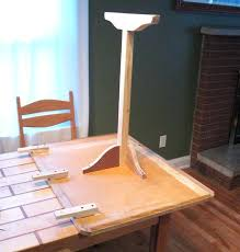 Dining Table With Extension Leaf Hardware Room Mechanism