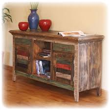 Distressed MULTI COLORED TABLE