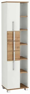 schildmeyer hochschrank ken höhe 163 7 cm badezimmerschrank mit metallgriffen viel stauraum durch offene regalfächer türen mit