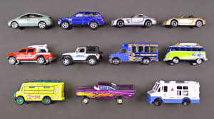 Learning Los Angeles Street Vehicles For Kids - Cars & Trucks Hot ...