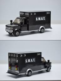 100 Truck And Van Accessories Building Toy Pieces And 258041 Custom Lego City Police