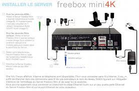 bs freebox mini 4k inventaire materiel notices cables prises