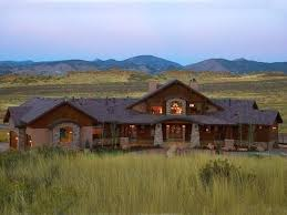 Rustic Ranch House Luxury Homes Bluff Home Plan Plans And