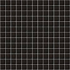 hakatai texture black 1 x 1 glass mosaic tile buy on sale at just