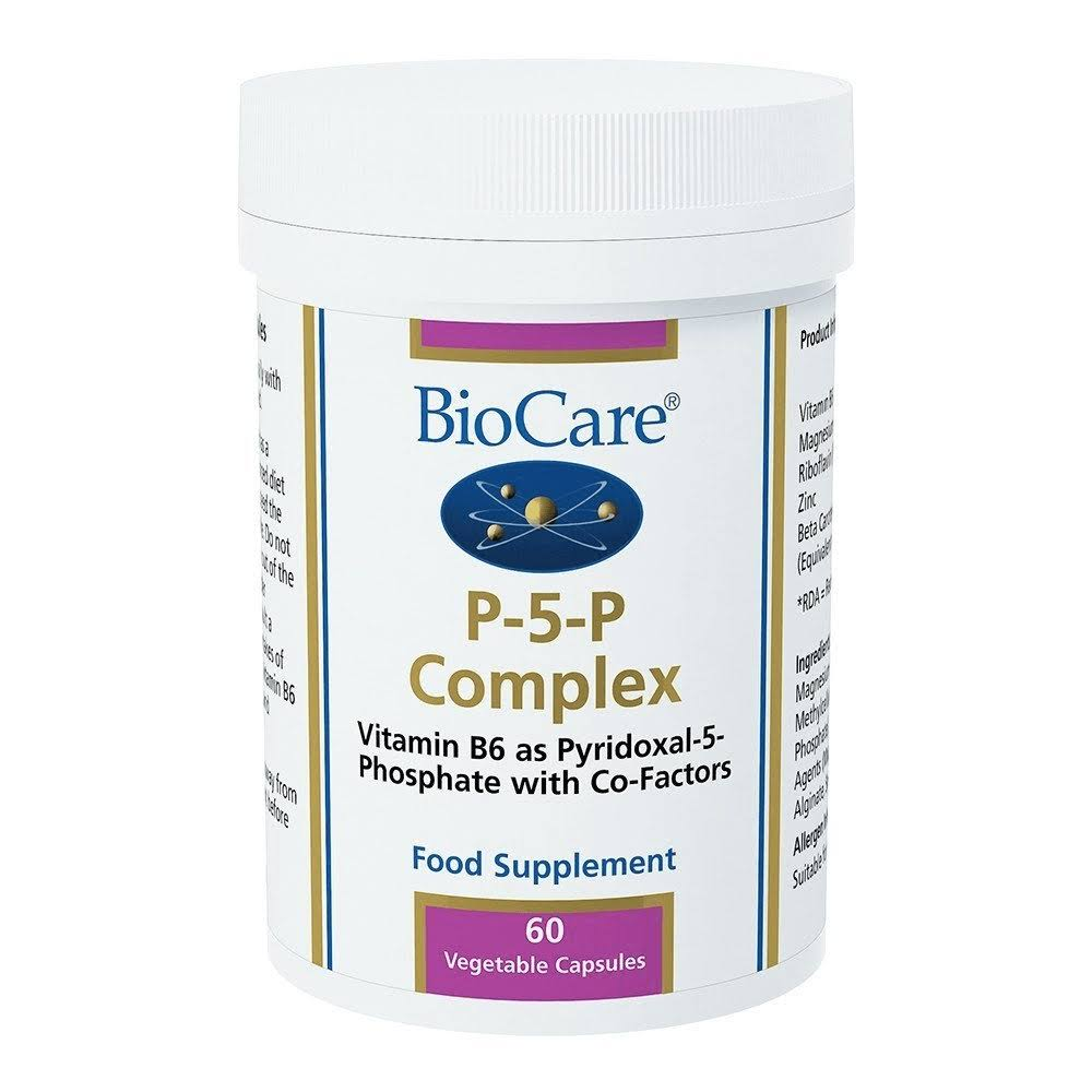 BioCare P-5-P Complex Food Supplement - 60 Capsules