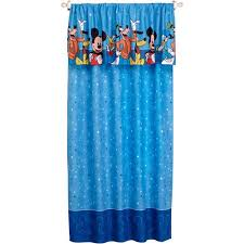 disney mickey mouse playground pals boys bedroom curtain panel