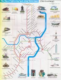 Shanghai Metro Maps Lines Subway Stations