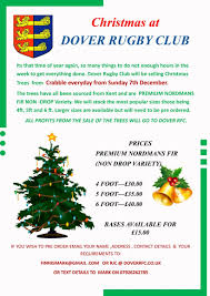 4ft Christmas Tree Uk by Christmas Tree Sale At The Crabble News Dover Sharks Rfc