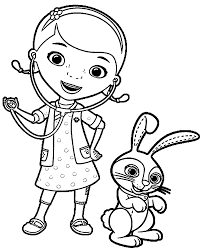 Fabulous Doc Mcstuffins Coloring From Cdedcacadef