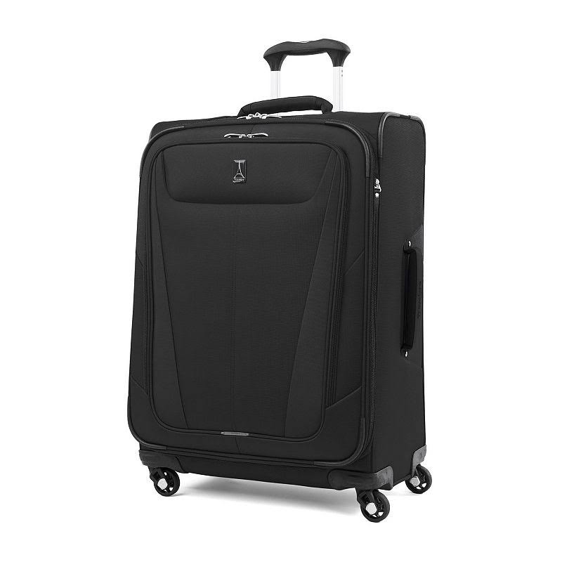 Travelpro Luggage Maxlite 5 Lightweight Expandable Suitcase - Black, 25""