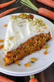 Pumpkin Carrot Cake with Cream Cheese Frosting Baker by Nature