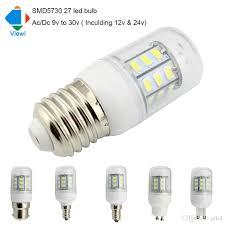 5x oule led l ac dc 12 volt e27 e12 e14 g9 gu10 light bulb