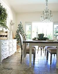 French Inspired Dining Room Decorating Country Decor Style