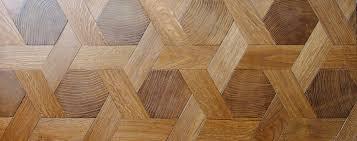End Grain Wood Blocks Parquet Floor Hexagone Hexagon In Oak