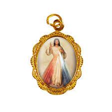 Medalha De Alumínio Jesus Misericordioso Mod 1