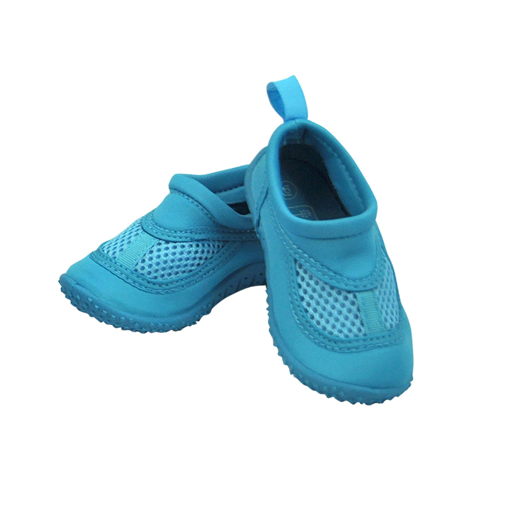 I Play Toddler's Baby Unisex Swim Shoes - Aqua, Size 9