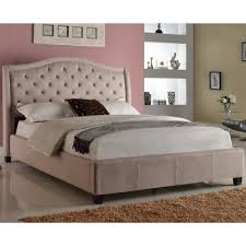 Impressive Tufted Headboard And Frame Luxury Unique Bed Frames