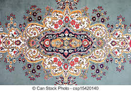 Texture Of Handmade Turkish Carpet Kilim