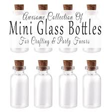 Pink And Gold Birthday Decorations Canada by Where To Buy Mini Glass Bottles For Crafting And Party Favors