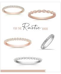 Rustic Wedding Rings From Shane Co