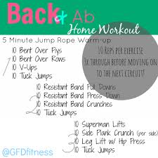 Home Back and Ab Workout – Befitting