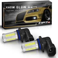 Show Glow G2 LED Fog Light Bulbs - OPT7 Car Fog Lights For Toyota Land Cruiserprado Fj150 2010 Front Bumper 1316 Hyundai Genesis Coupe Light Overlay Kit Endless Autosalon Pair Led Offroad Driving Lamp Cube Pods 32006 Gmc Spyder Oe Replacements Free Shipping Hey You Turn Your Damn Off Styling Led Work Tractor For Truck 52016 Mustang Baja Designs Mount Baja447002 Jw Speaker Daytime Running And Fog Lights Toyota Auris 2007 To 2009 2013 Nissan Altima Sedan Precut Yellow Overlays Tint Oracle 0608 Ford F150 Halo Rings Head Bulbs 18w Cree Led Driving Light Lamp Offroad Car Pickup