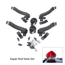 100 Kayak Carrier For Truck Holder Car 4 V Racks Top Roof Rack Set