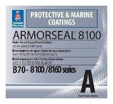 armorseal 8100 water based epoxy floor coating b70 8100 8160