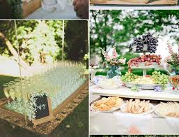 Meals And Drinks Serving Concepts For Backyard Wedding Ceremony Tendencies 2017