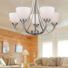 Dining Room Chandeliers Canada Inspiring Goodly Nickel Chandelier Lights At Image