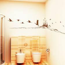 details zu wandtattoo krachine und vögel am fluss vogel fliegen natur 10230 badezimmer deko