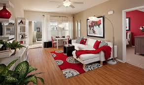 Ideas View In Gallery White Combined With Black And Red To Make The Living Room More Pleasant