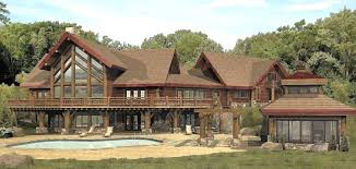 Large Log Cabin Floor Plans Photo by Summerset Log Homes Cabins And Log Home Floor Plans Wisconsin